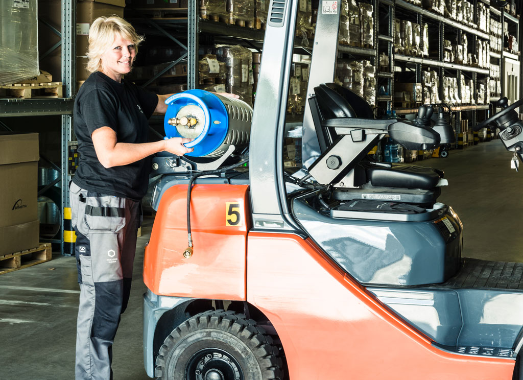 A New Standard in Forklift Propane